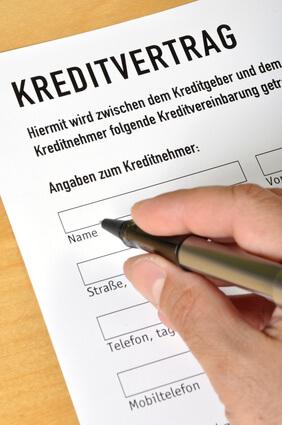 Kreditvertrag
